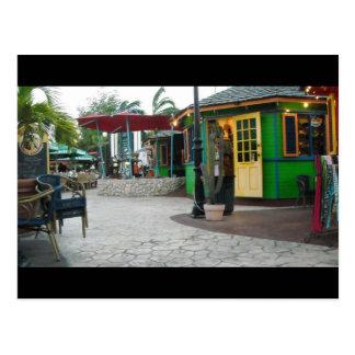 Tropical Dining Postcard