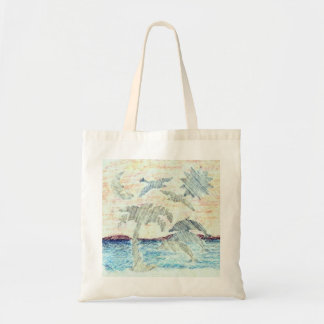 Tropical Dolphins Shopping and Beach Tote