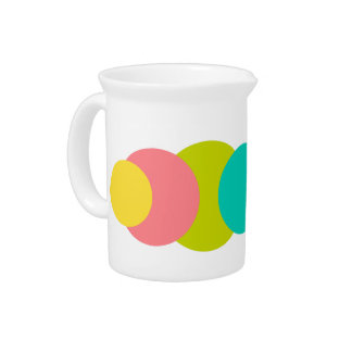 Tropical Dots Drink Pitchers