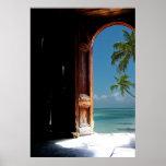 Tropical Dream Door Poster