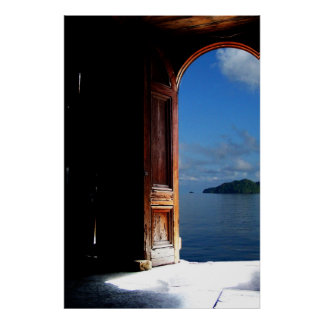 Tropical Dream Doorway Poster