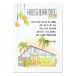 "Tropical Dream House 5"" X 7"" Invitation Card"