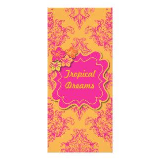 Tropical Dreams Rack Card