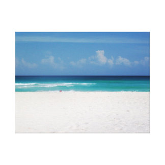 Tropical Dreemin-Beach Goin Canvas Print