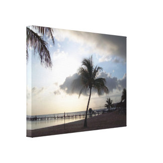 Tropical Dreemin-Day Break Canvas Print