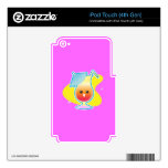 Tropical Drink iPod Touch 4G Decal