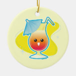 Tropical Drink Ornaments