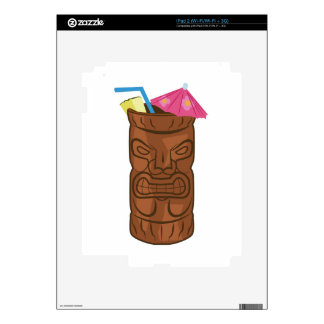 Tropical Drink Skin For iPad 2