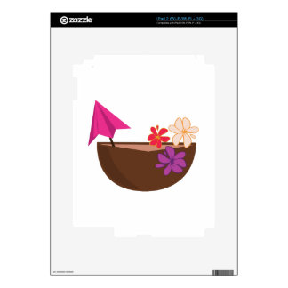 Tropical Drink Decals For The iPad 2