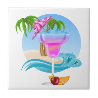 Tropical Drink - SRF Ceramic Tile