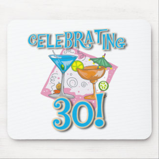 Tropical Drinks Celebrating 30 Mouse Pad