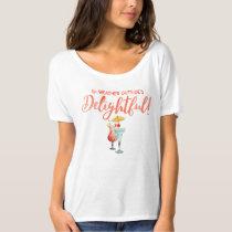 Tropical Drinks | Winter in Tropics | Watercolor T-Shirt