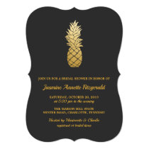 Tropical Elegance | Pineapple Bridal Shower Card
