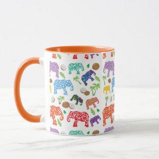Tropical Elephants Mug