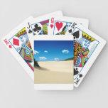 Tropical en las dunas cartas de juego