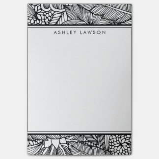 Tropical Escape | Personalized Color Your Own Post-it Notes