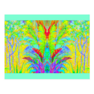 Tropical Exotic  Gardens Gifts by Sharles Postcard