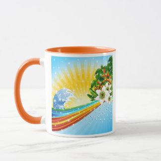 Tropical Exotic Summer Holidays Mug