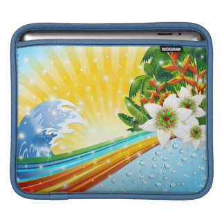 Tropical Exotic Summer Holidays Sleeve For iPads