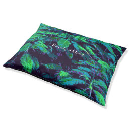 Tropical Fabric Pet Bed