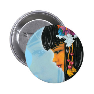Tropical Faerie Pinback Buttons