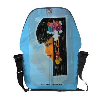 Tropical Faerie Courier Bag