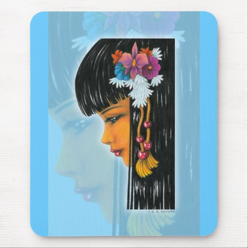 Tropical Faerie Mouse Pad