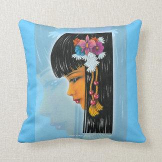 Tropical Faerie Throw Pillow