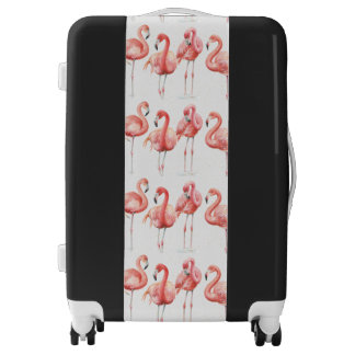 Tropical | Family of Flamingos Luggage