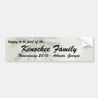 Tropical Family Reunion Bumper Sticker