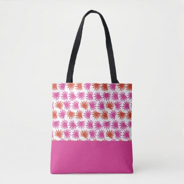 Beach Themed Tropical Fan Tote
