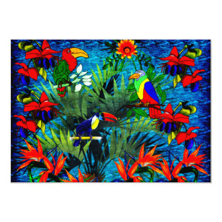 Tropical Fantasy Card