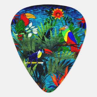 Tropical Fantasy Guitar Pick