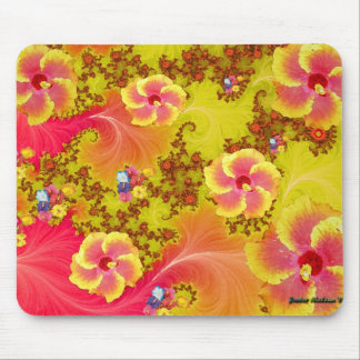 Tropical Fantasy Mouse Pad