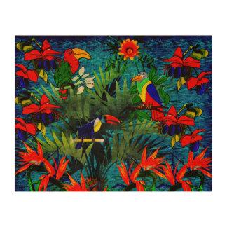 Tropical Fantasy Cork Paper Prints