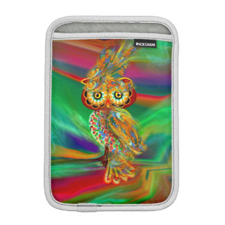 Tropical Fashion Queen Owl iPad Mini Sleeve