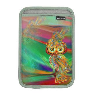 Tropical Fashion Queen Owl iPad Mini Sleeve