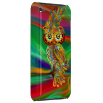 Tropical Fashion Queen Owl iPod Case-Mate Case