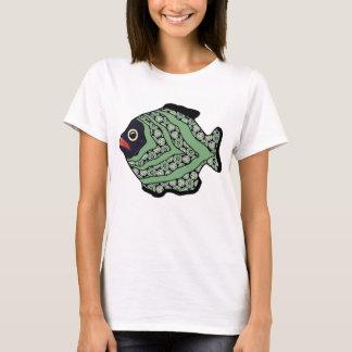 Tropical Fish-03 Dark Kelp Green T-Shirt