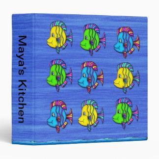 Tropical Fish 1 3-Ring Binder