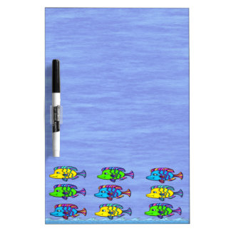 Tropical Fish 1 Dry Erase Board