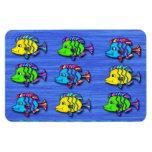 Tropical Fish 1 Flexible Magnets