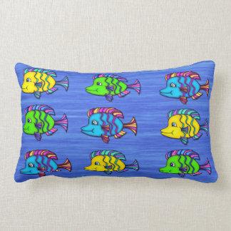 Tropical Fish 1 Lumbar Pillow