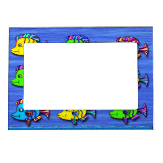 Tropical Fish 1 Magnetic Frame