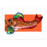 Tropical Fish 1 Popular Cool Retro Fish Post Cards