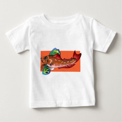 Tropical Fish 1 Popular Cool Retro Fish Shirts