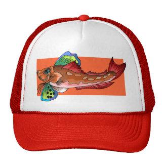 Tropical Fish 1 Popular Cool Retro Fish Trucker Hat
