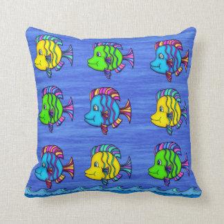 Tropical Fish 1 Throw Pillow
