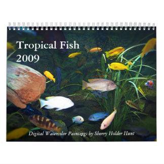 Tropical Fish 2009 Calendar