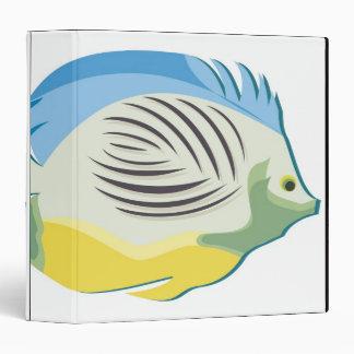 Tropical Fish 2 3 Ring Binder